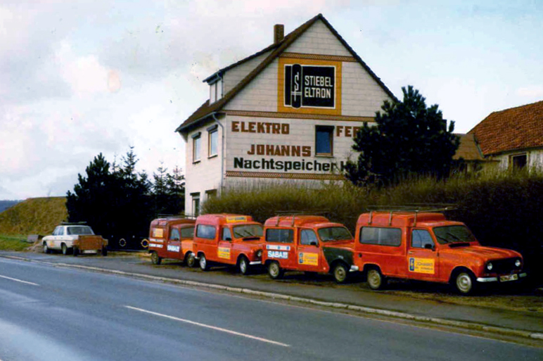Elektro Johanns früher